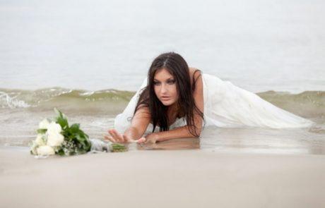 צילום טרש דה דרס – להרוס את שמלת הכלה!